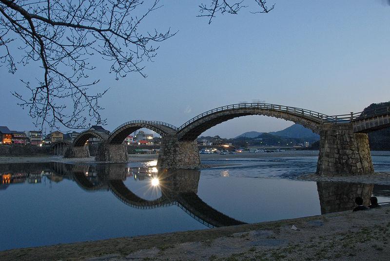 Фото 9, Мост Кинтай, Япония