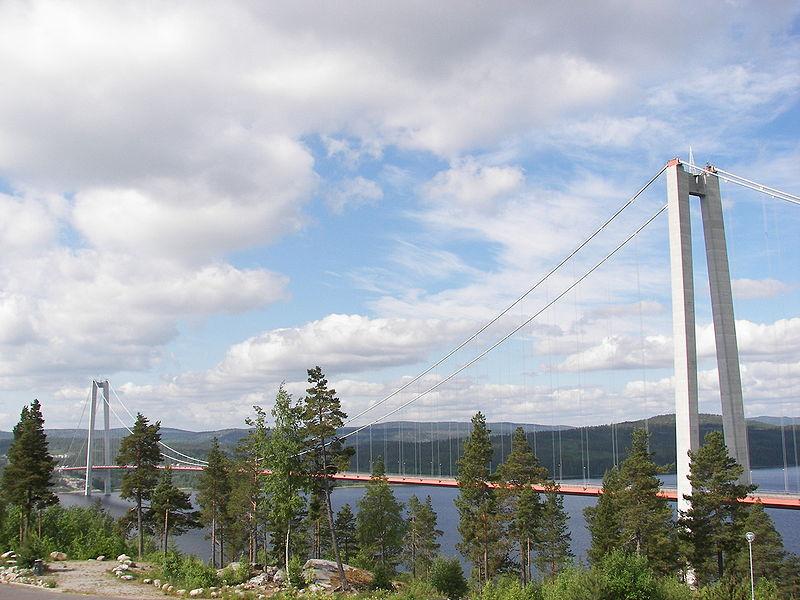 Фото 5, Мост Высокий берег, Швеция