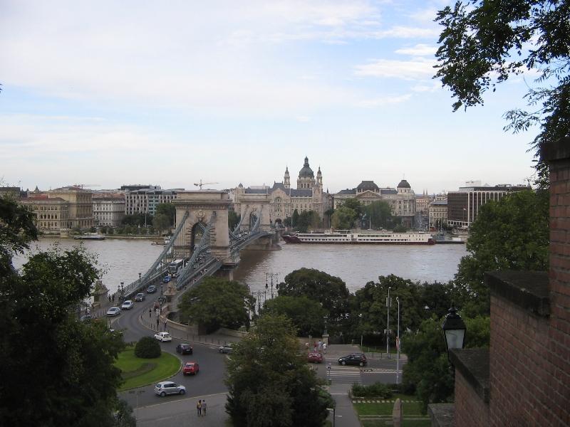 Фото 10, Цепной мост Сечени, Будапешт